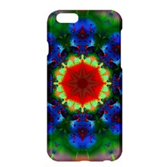 Fractal Digital Mandala Floral Apple Iphone 6 Plus/6s Plus Hardshell Case by Celenk