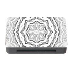 Mandala Pattern Floral Memory Card Reader With Cf by Celenk
