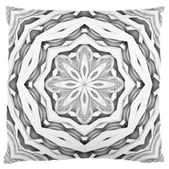 Mandala Pattern Floral Large Cushion Case (two Sides) by Celenk