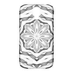 Mandala Pattern Floral Samsung Galaxy S4 Classic Hardshell Case (pc+silicone) by Celenk