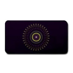Fractal Purple Mandala Violet Medium Bar Mats by Celenk