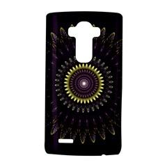Fractal Purple Mandala Violet Lg G4 Hardshell Case by Celenk