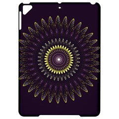 Fractal Purple Mandala Violet Apple Ipad Pro 9 7   Hardshell Case by Celenk