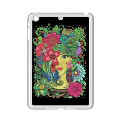 Mandala Figure Nature Girl Ipad Mini 2 Enamel Coated Cases by Celenk