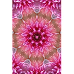 Flower Mandala Art Pink Abstract 5 5  X 8 5  Notebooks by Celenk