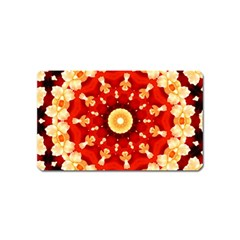 Abstract Art Abstract Background Magnet (name Card) by Celenk