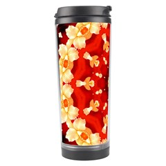 Abstract Art Abstract Background Travel Tumbler by Celenk