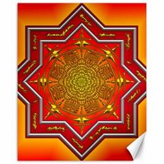 Mandala Zen Meditation Spiritual Canvas 16  X 20   by Celenk