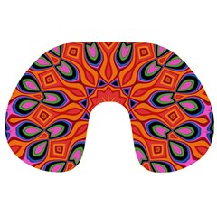 Abstract Art Abstract Background Travel Neck Pillows by Celenk