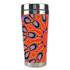 Abstract Art Abstract Background Stainless Steel Travel Tumblers by Celenk