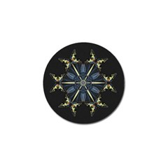 Mandala Butterfly Concentration Golf Ball Marker (4 Pack) by Celenk