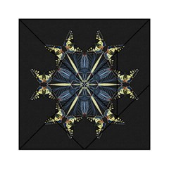 Mandala Butterfly Concentration Acrylic Tangram Puzzle (6  X 6 ) by Celenk