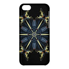 Mandala Butterfly Concentration Apple Iphone 5c Hardshell Case by Celenk
