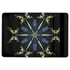 Mandala Butterfly Concentration Ipad Air 2 Flip by Celenk