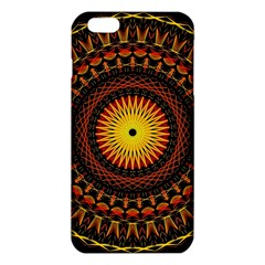 Mandala Psychedelic Neon Iphone 6 Plus/6s Plus Tpu Case by Celenk
