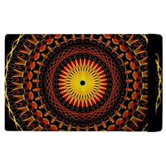 Mandala Psychedelic Neon Apple Ipad Pro 9 7   Flip Case by Celenk