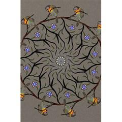 Bird Mandala Spirit Meditation 5 5  X 8 5  Notebooks by Celenk