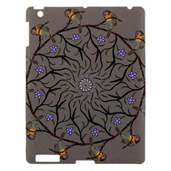 Bird Mandala Spirit Meditation Apple Ipad 3/4 Hardshell Case by Celenk