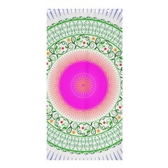 Flower Abstract Floral Shower Curtain 36  X 72  (stall)  by Celenk