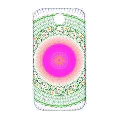Flower Abstract Floral Samsung Galaxy S4 I9500/i9505  Hardshell Back Case by Celenk