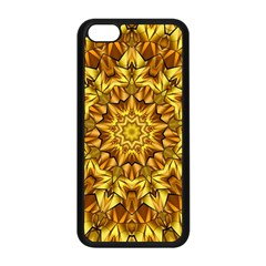 Abstract Antique Art Background Apple Iphone 5c Seamless Case (black) by Celenk