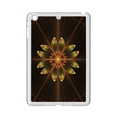 Fractal Floral Mandala Abstract Ipad Mini 2 Enamel Coated Cases by Celenk