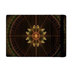 Fractal Floral Mandala Abstract Ipad Mini 2 Flip Cases by Celenk