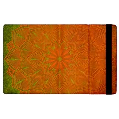 Background Paper Vintage Orange Apple Ipad 2 Flip Case by Celenk