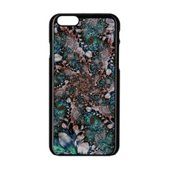 Art Artwork Fractal Digital Art Apple Iphone 6/6s Black Enamel Case by Celenk