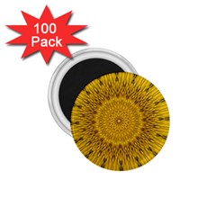 Pattern Petals Pipes Plants 1 75  Magnets (100 Pack)  by Celenk