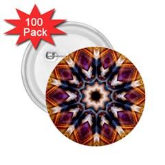 Kaleidoscope Pattern Kaleydograf 2 25  Buttons (100 Pack)  by Celenk