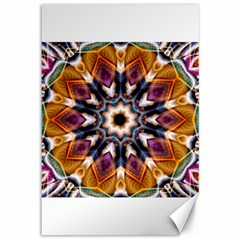 Kaleidoscope Pattern Kaleydograf Canvas 12  X 18   by Celenk