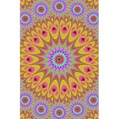 Geometric Flower Oriental Ornament 5 5  X 8 5  Notebooks by Celenk