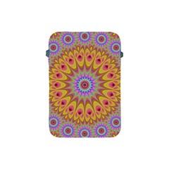 Geometric Flower Oriental Ornament Apple Ipad Mini Protective Soft Cases by Celenk