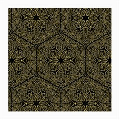 Texture Background Mandala Medium Glasses Cloth by Celenk