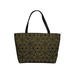 Texture Background Mandala Shoulder Handbags by Celenk