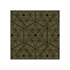 Texture Background Mandala Acrylic Tangram Puzzle (4  X 4 ) by Celenk