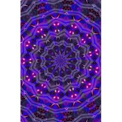 Purple Kaleidoscope Mandala Pattern 5 5  X 8 5  Notebooks by Celenk