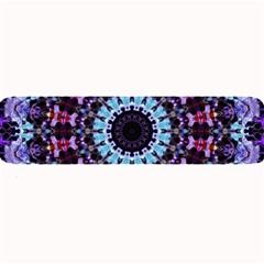 Kaleidoscope Shape Abstract Design Large Bar Mats by Celenk