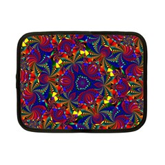 Kaleidoscope Pattern Ornament Netbook Case (small)  by Celenk