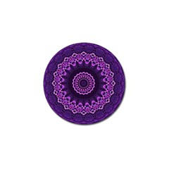 Mandala Purple Mandalas Balance Golf Ball Marker by Celenk