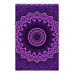 Mandala Purple Mandalas Balance Shower Curtain 48  X 72  (small)  by Celenk