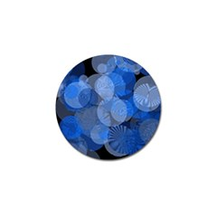 Circle Rings Abstract Optics Golf Ball Marker by Celenk