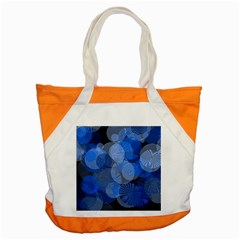 Circle Rings Abstract Optics Accent Tote Bag by Celenk