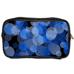 Circle Rings Abstract Optics Toiletries Bags by Celenk