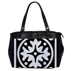 Mandala Pattern Mystical Office Handbags by Celenk