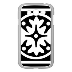 Mandala Pattern Mystical Samsung Galaxy Grand Duos I9082 Case (white) by Celenk