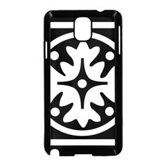 Mandala Pattern Mystical Samsung Galaxy Note 3 Neo Hardshell Case (black) by Celenk