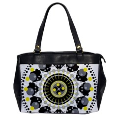 Mandala Geometric Design Pattern Office Handbags by Celenk