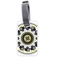 Mandala Geometric Design Pattern Luggage Tags (two Sides)